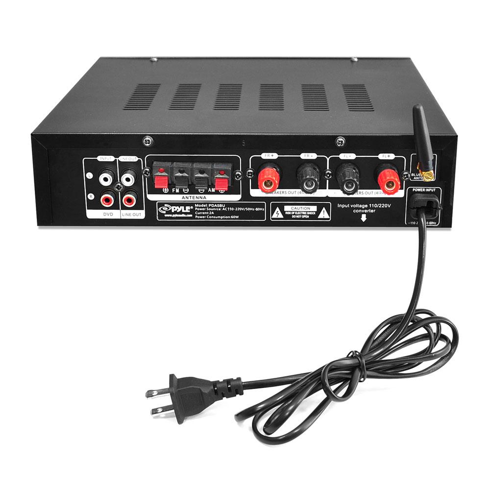 Bluetooth Stereo Amplifier, 200 Watt