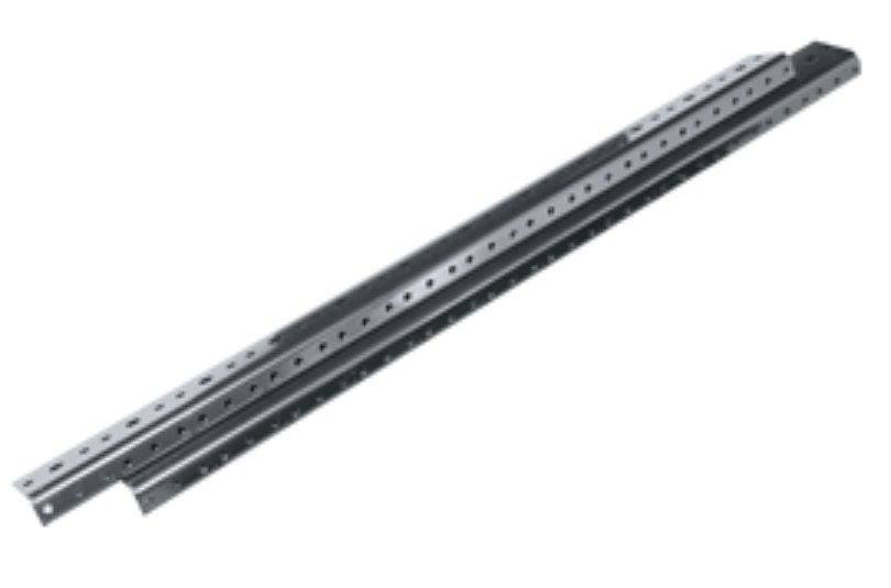 "Middle Atlantic Products RRF4 4-Space, 7"" Full Hole Rack Rails (1 Pair) RRF4-MID-ATLANTIC"