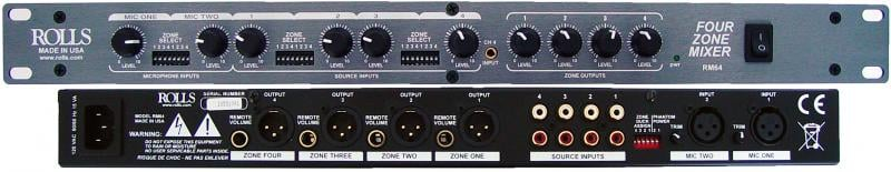 Four Zone Mixer