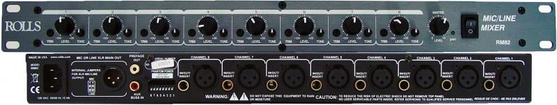8-Channel Mic/Line Mixer
