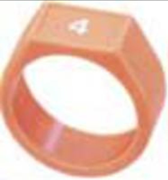 Orange Cable ID Ring for X Series Cables