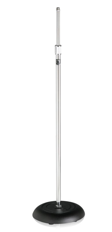 "35""-63"" All-Purpose Microphone Stand in Chrome"