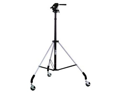 Wheeled Tripod with Titan 2-Way Head