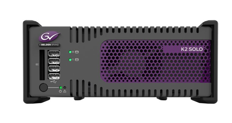 K2 Solo 2-Channel 3G SD/HD Portable Server
