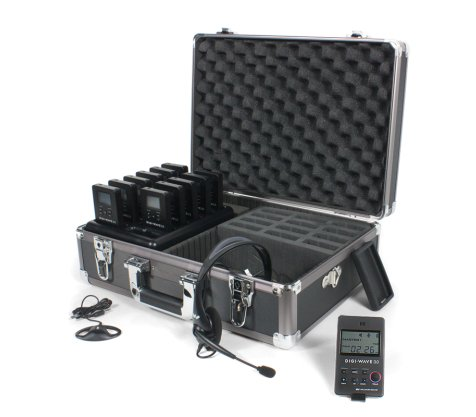 Digi-Wave 300 Series Tour Guide System