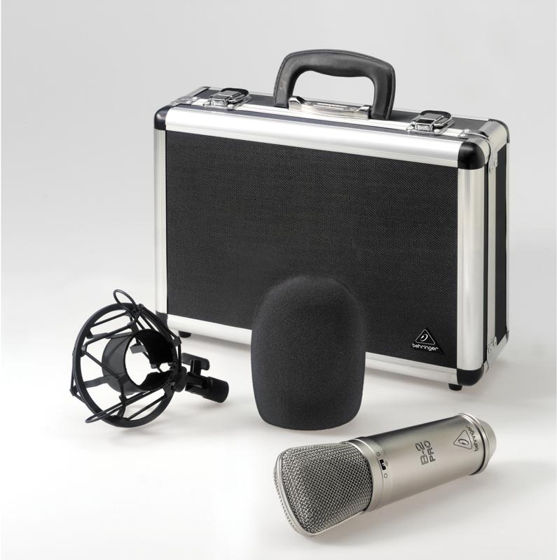 Multi-Pattern Studio Condenser Microphone