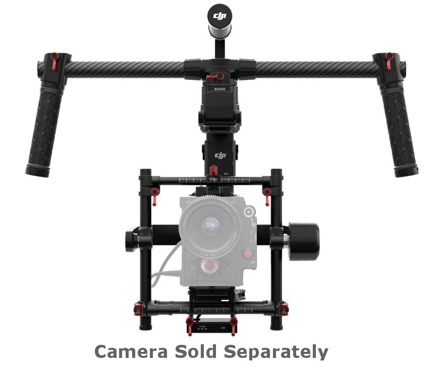 Dual Use Gimbal with 10lbs Payload Capacity
