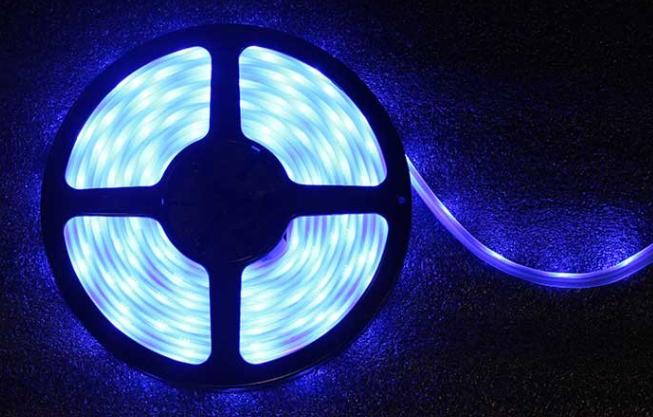 5-Meter RGB 12v LED Ribbon Roll, 60 LEDs Per Meter