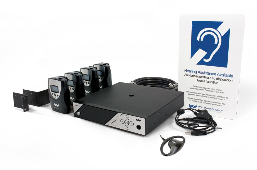 Network-controlled Personal PA® System with rack panel kit
