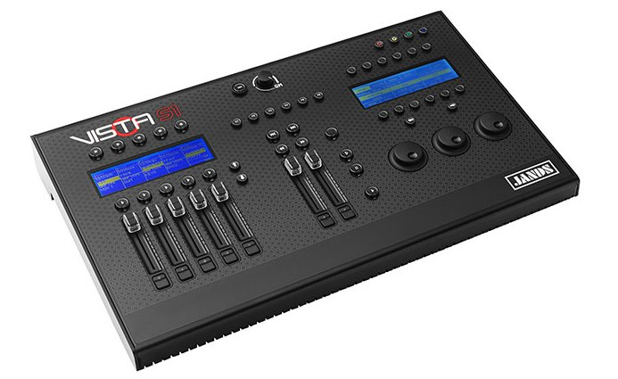 Jands Vista S1 Console with Dongle to Add 512 Channels