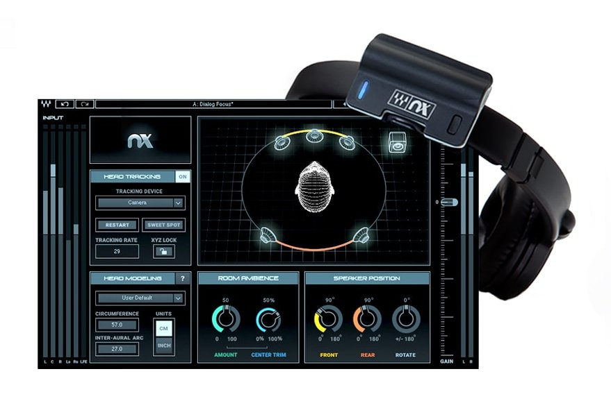 Nx HeadTracker + Nx Virtual Mix Room Combo