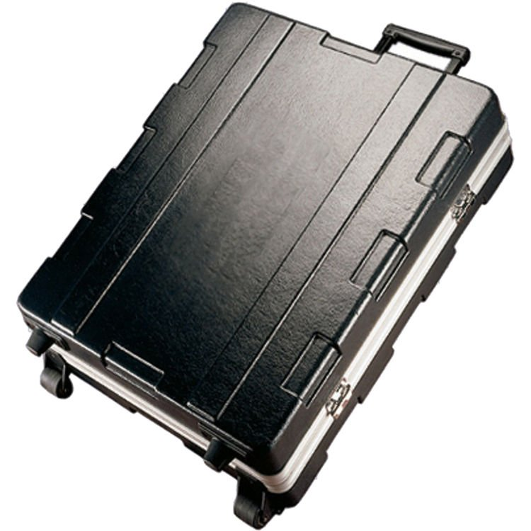 Molded Flight Case for QU-24 Mixer, with Wheels and Pull Handle