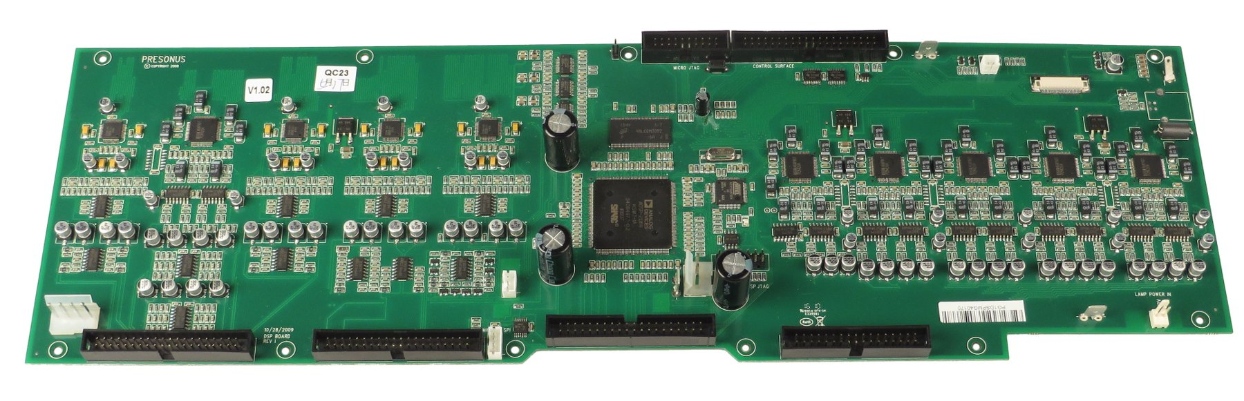 DSP PCB Assembly for StudioLive 16.4.2