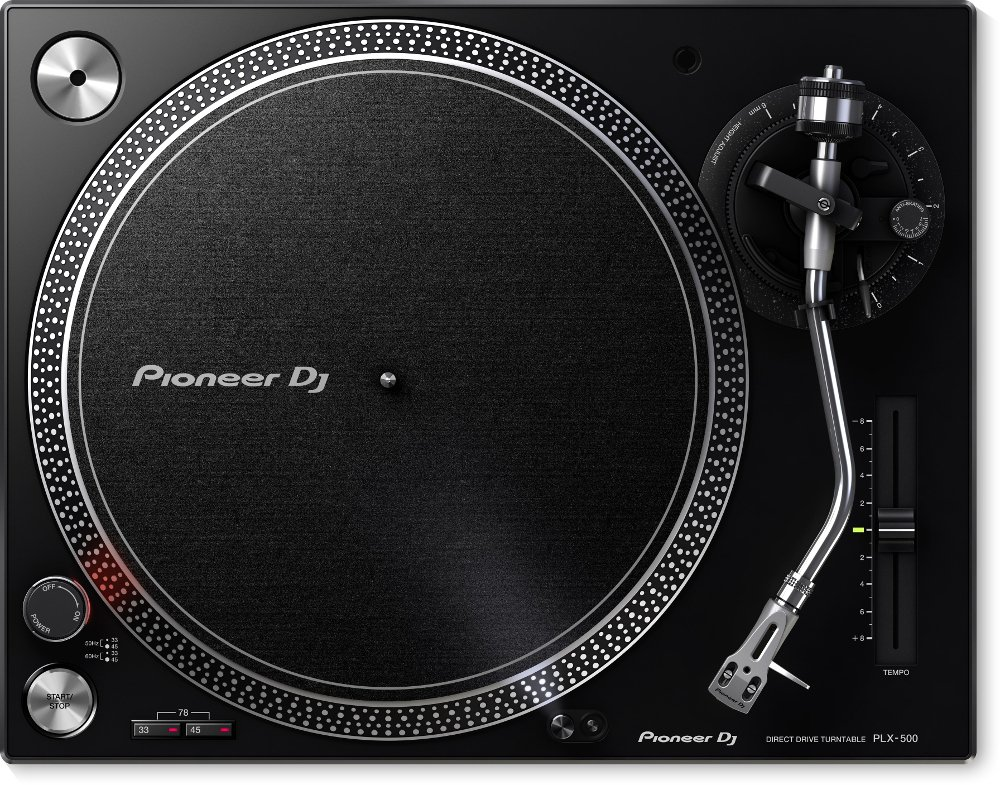 High-Torque Direct DriveTurntable, Black