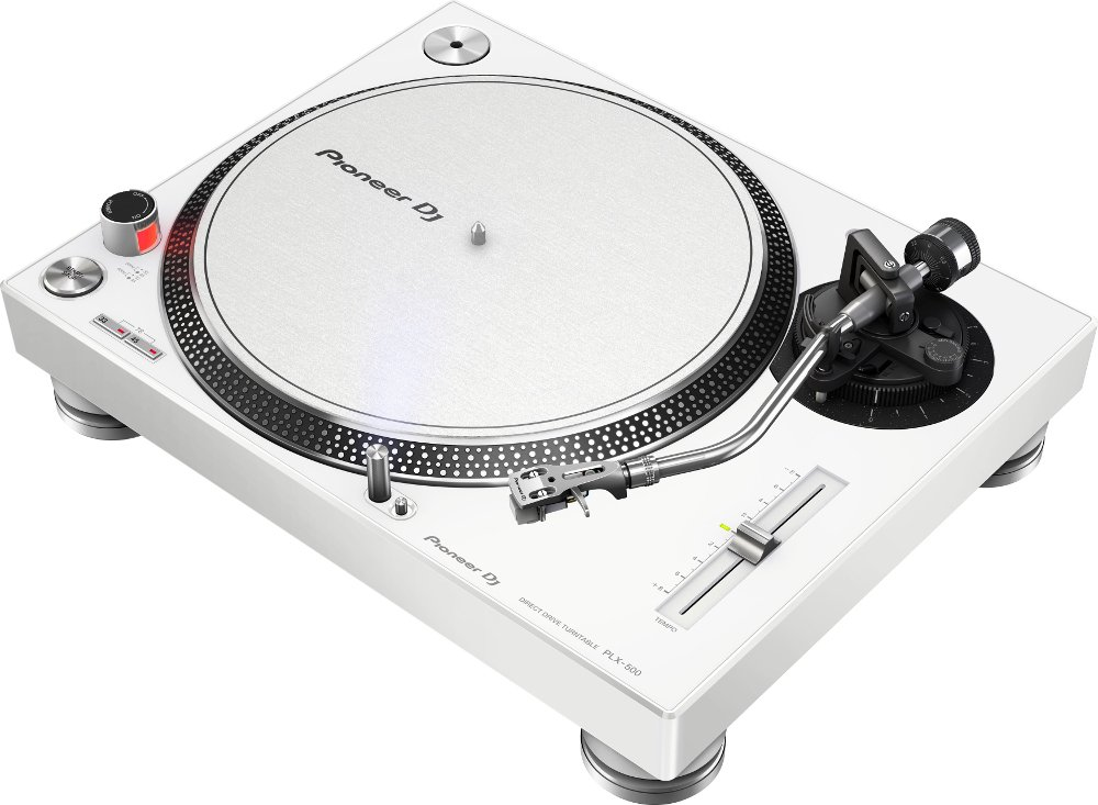 High-Torque Direct DriveTurntable, White