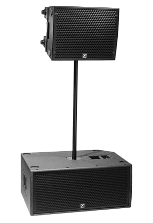 Compact Subwoofer, 2800 Watts 8 Fly Points