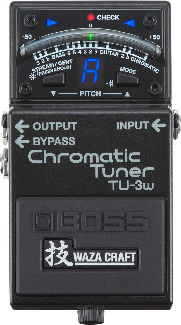Waza Craft Chromatic Tuner Pedal