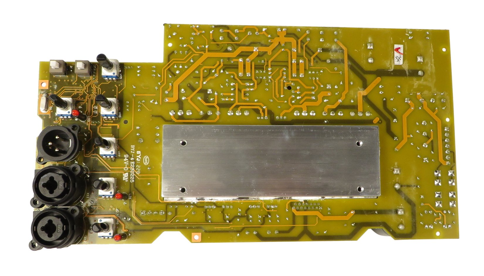 Amp Assembly PCB for B415DSP