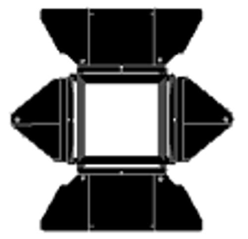 Lowel Light Mfg O1-20  Complete Barndoor  O1-20