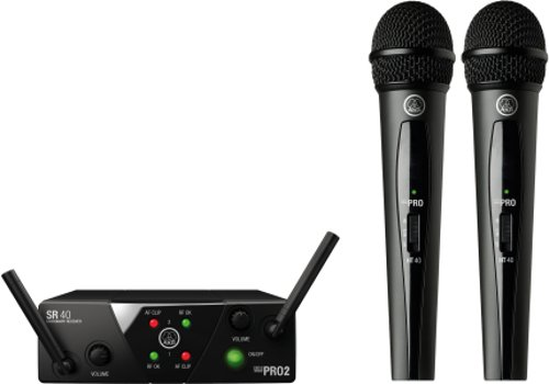 Wireless System, 2-Ch, Vocal