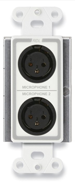 Active Two-Pair Sender Dual Microphone Preamplifier,Format-A
