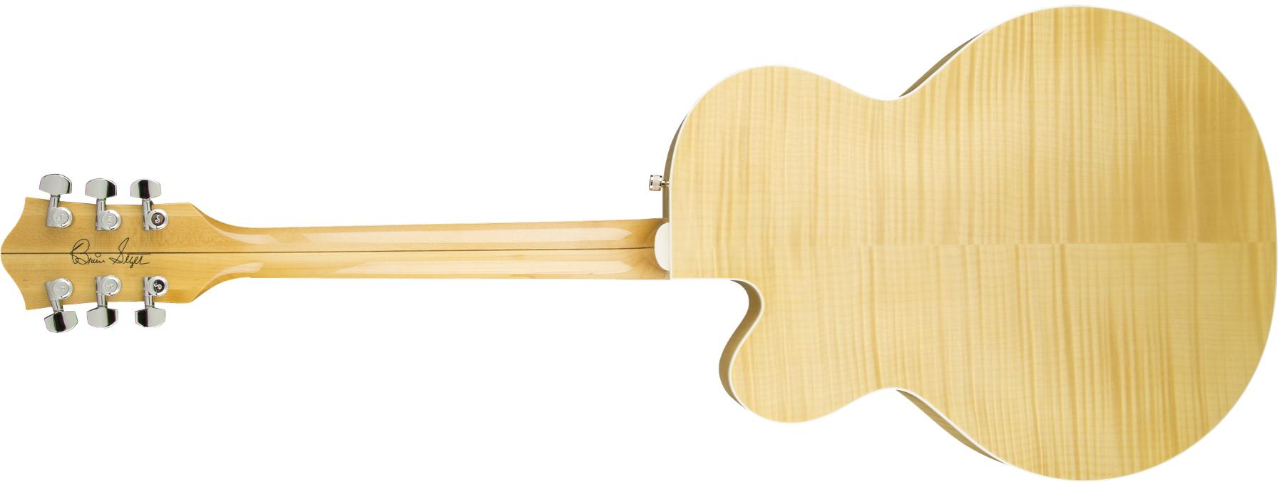 Brian Setzer Blonde Hot Rod Hollow Body Electric Guitar, Blonde