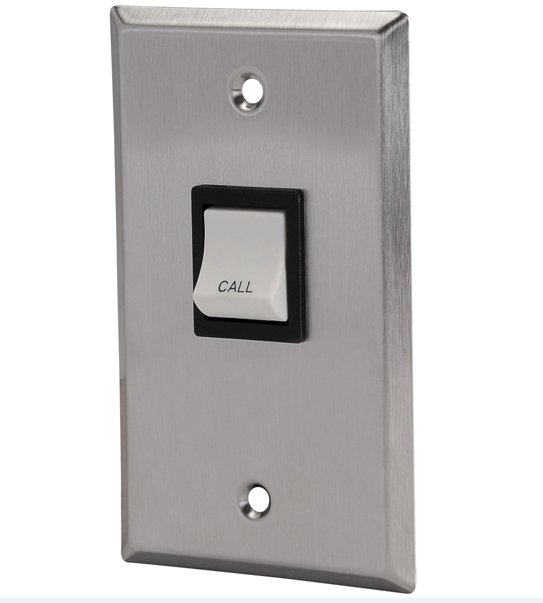 Single-Gang Wall-Mount Call-In Button