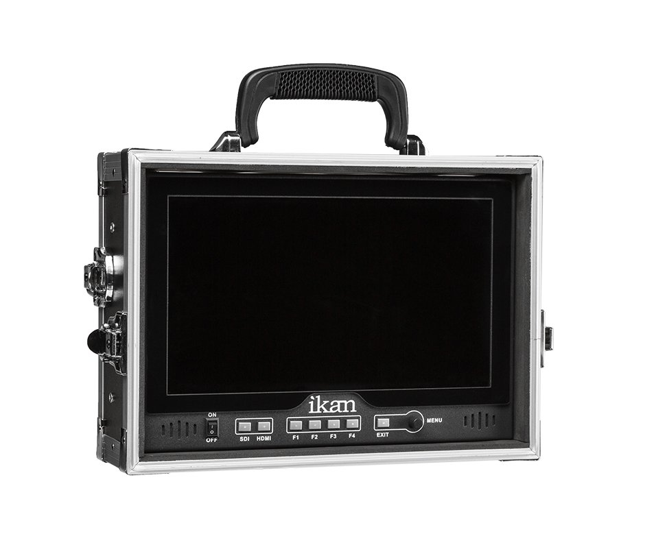 D12 Field Monitor Kit for V-Mount with Built-In Hard Case