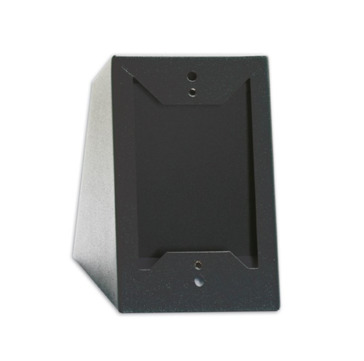 Desktop or Wall Mounted Chassis for Decora Remote Controls and Panels, Black