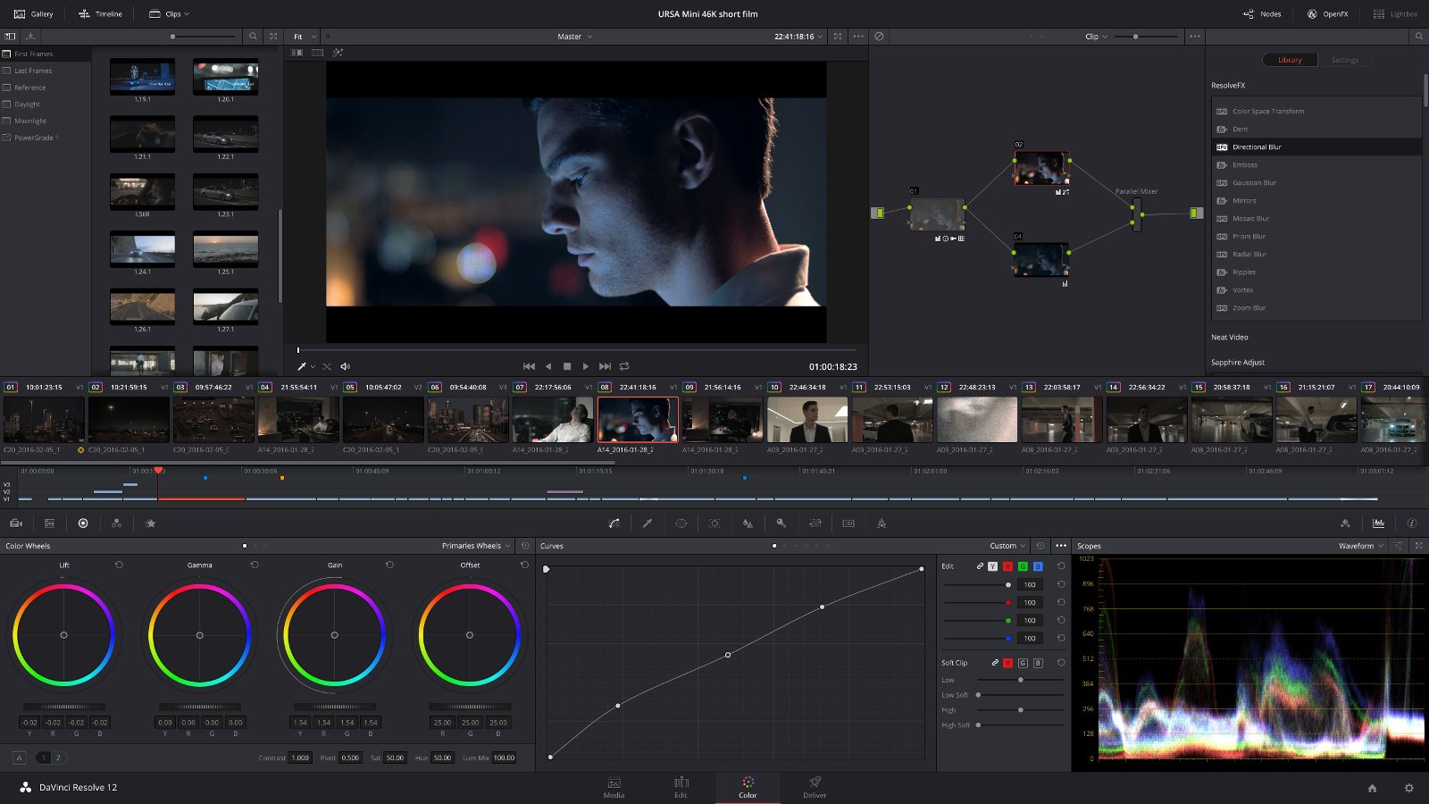 Video Editing and Color Correction Software