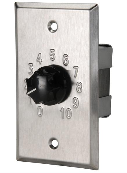 Wall-mount Volume Control Attenuator