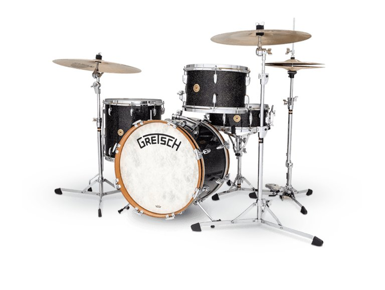 Broadkaster Vintage 3-Piece Shell Pack, Anniversary Sparkle Finish
