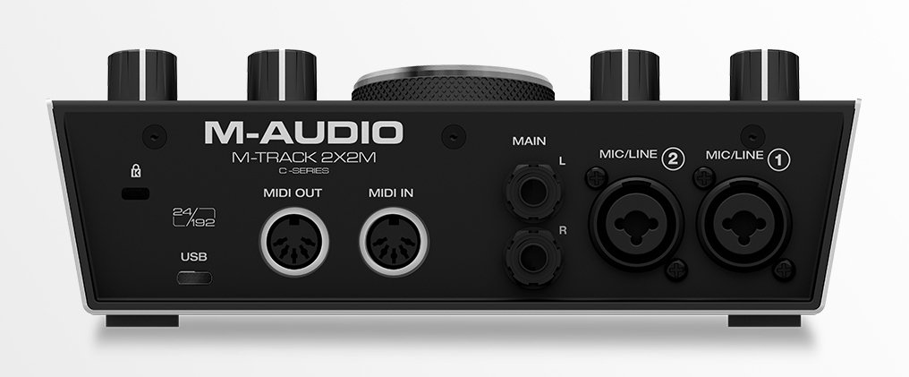 Audio/MIDI Interface, 2-In/2-Out, USB