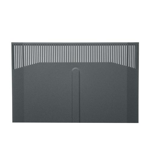 Solid Front Door for 25RU BGR Racks
