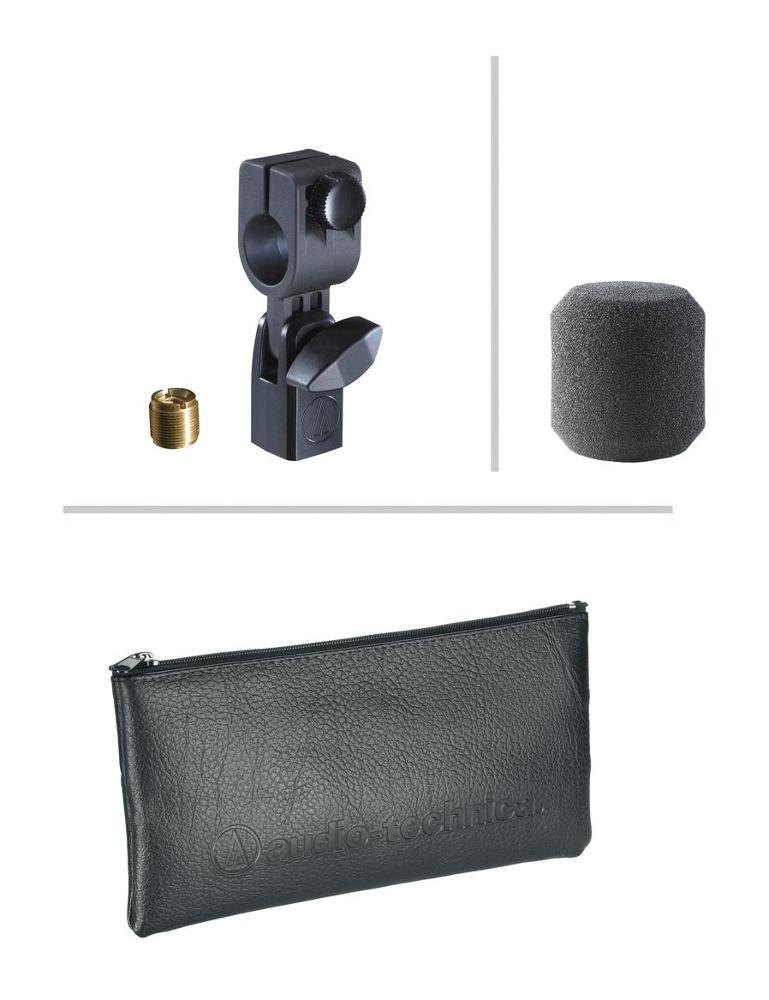 Audio-Technica ATM450 Side-Address Cardioid Condenser Instrument Microphone ATM450