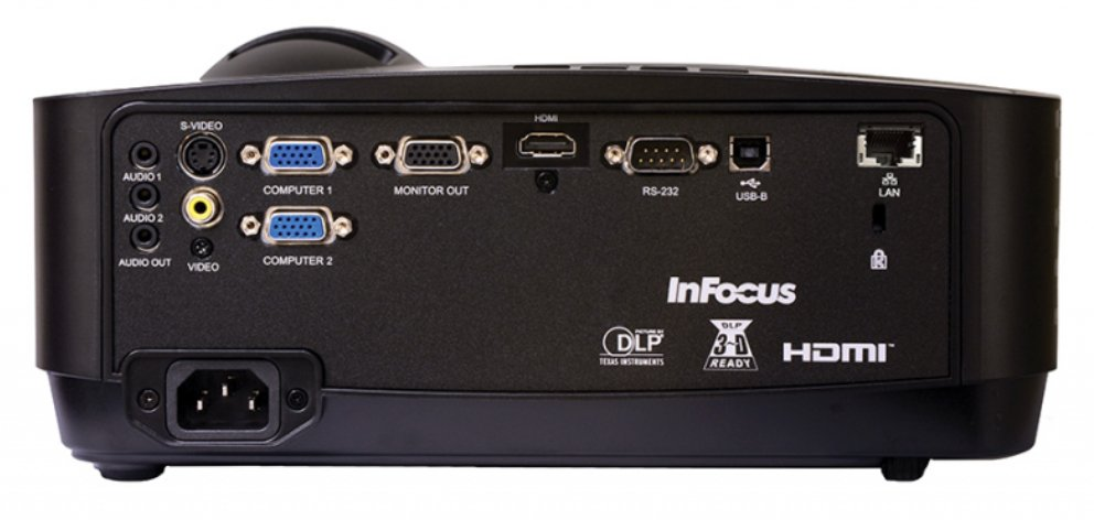 InFocus IN126STx  DLP WXGA 3700 lm 3D Ready HDMI RJ45 Short Throw Projector IN126STx