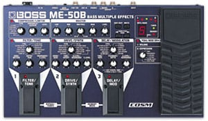 Bass Multi-Effects Processor