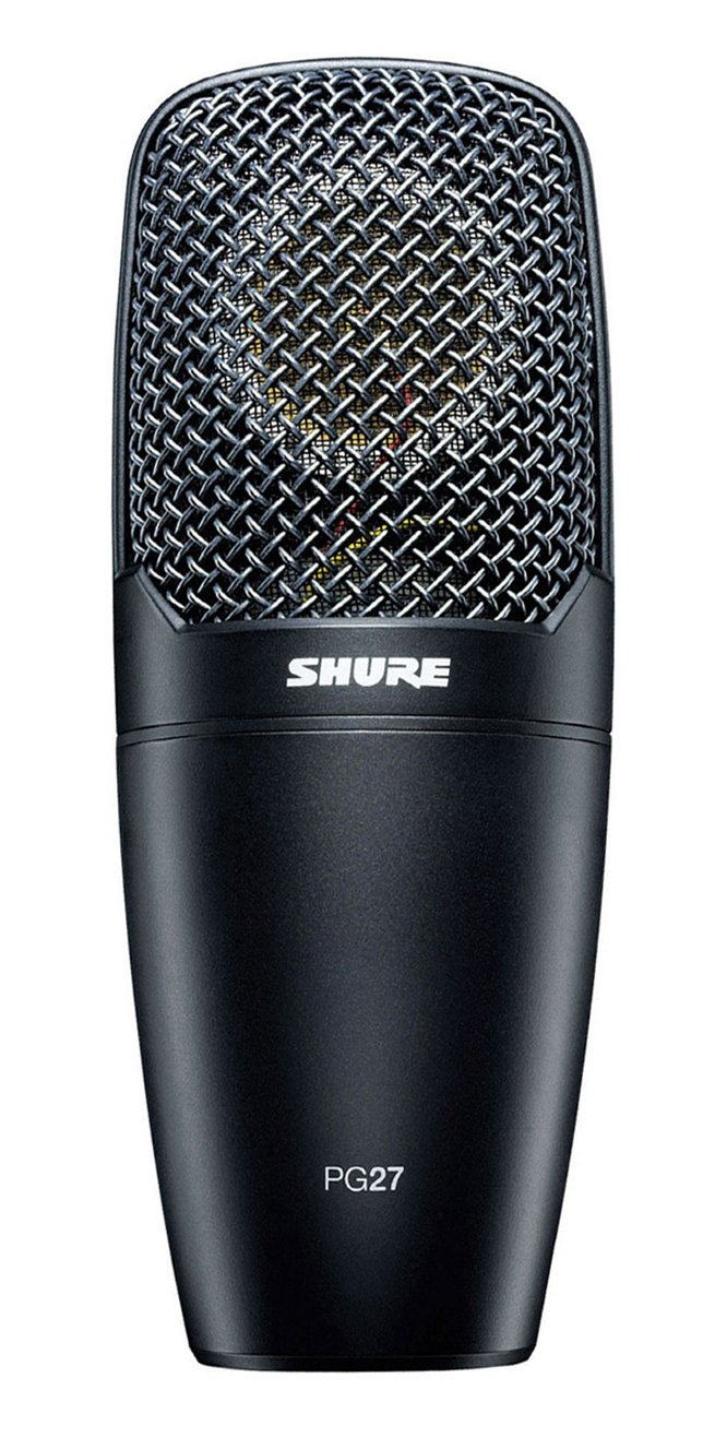Side-Address Cardioid Condenser Mic