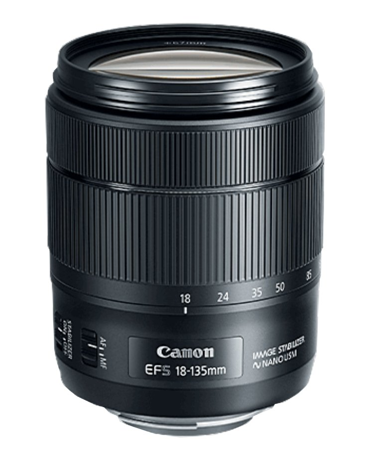 EF-S 18–135mm f/3.5–5.6 IS USM Lens