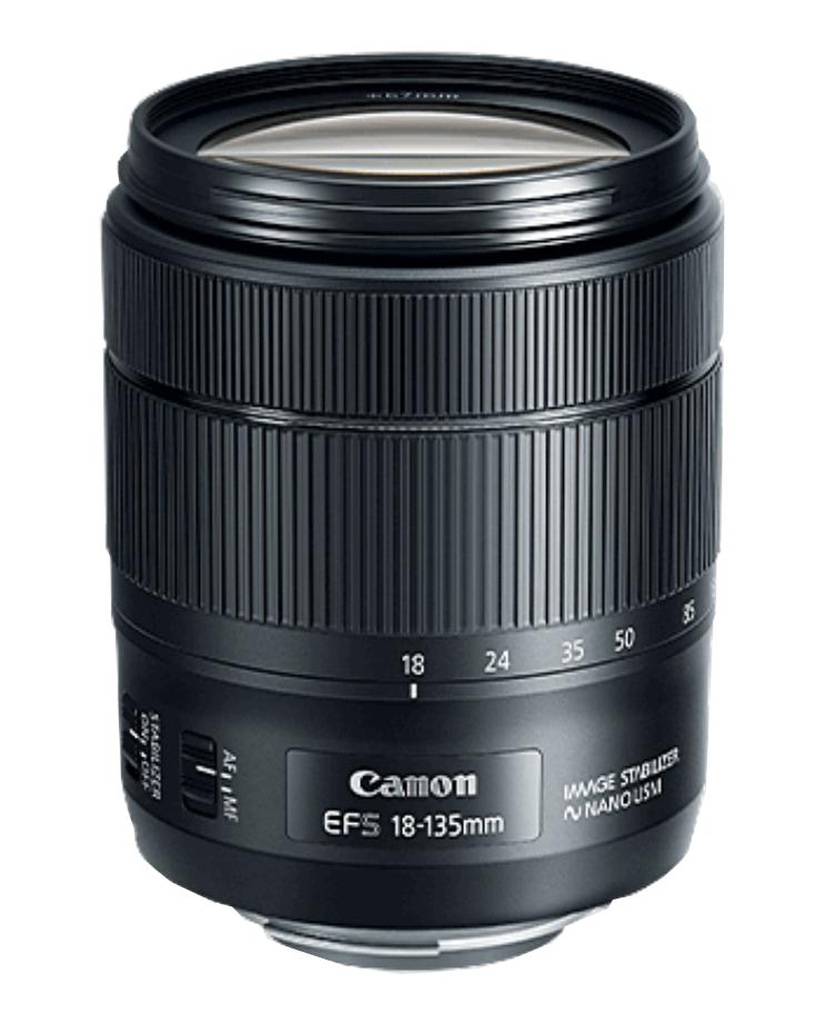 Canon 1276C002  EF-S 18–135mm f/3.5–5.6 IS USM Lens 1276C002