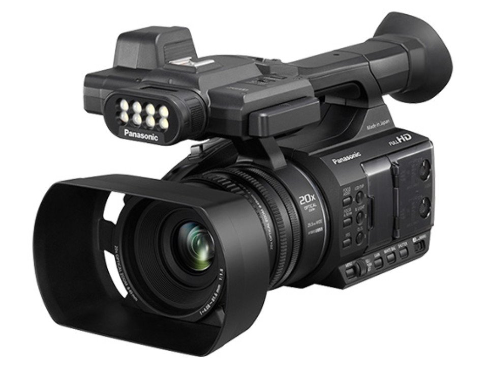 Full HD Camcorder with Touch Panel LCD