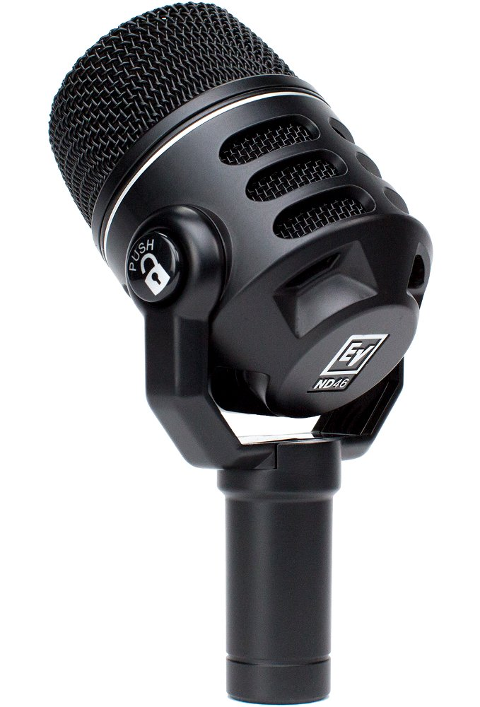 Dynamic Supercardioid Instrument Microphone