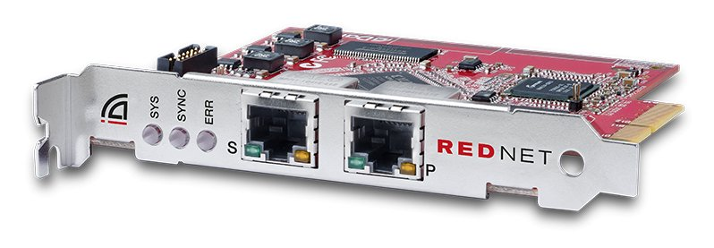 Dante Audio Interface Card with Network Redundancy, Win/Mac