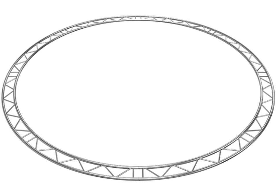 Horizontal Truss Circle