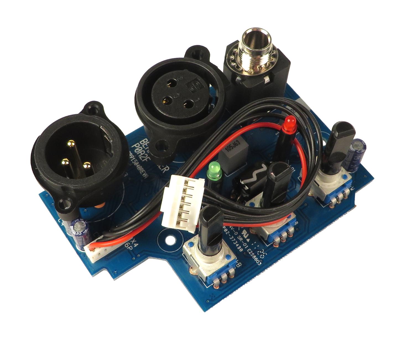XLR Input PCB for EUROLIVE B212D