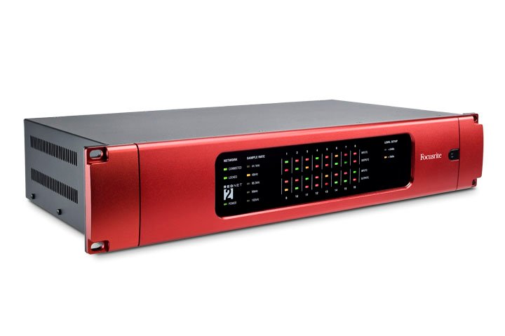 16-Channel AD/DA Remote Dante Interface for RedNet Network Audio System