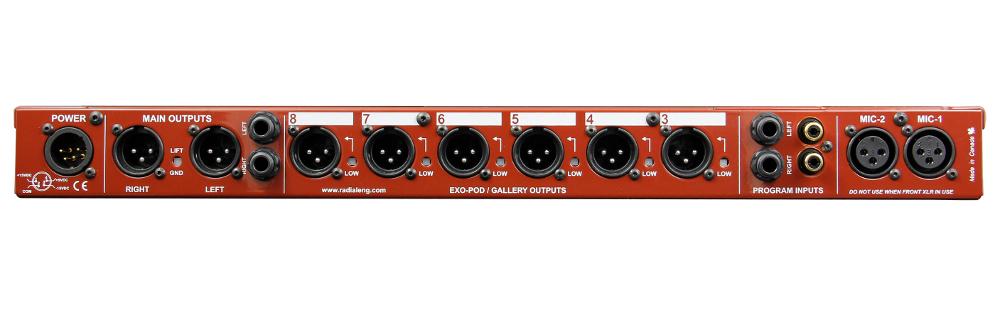 Radial Engineering mPress Broadcast Press Box MPRESS