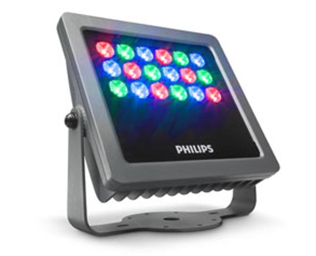 Philips Color Kinetics 316-000008-04 Vaya Flood MP RGB with 10° Beam 316-000008-04