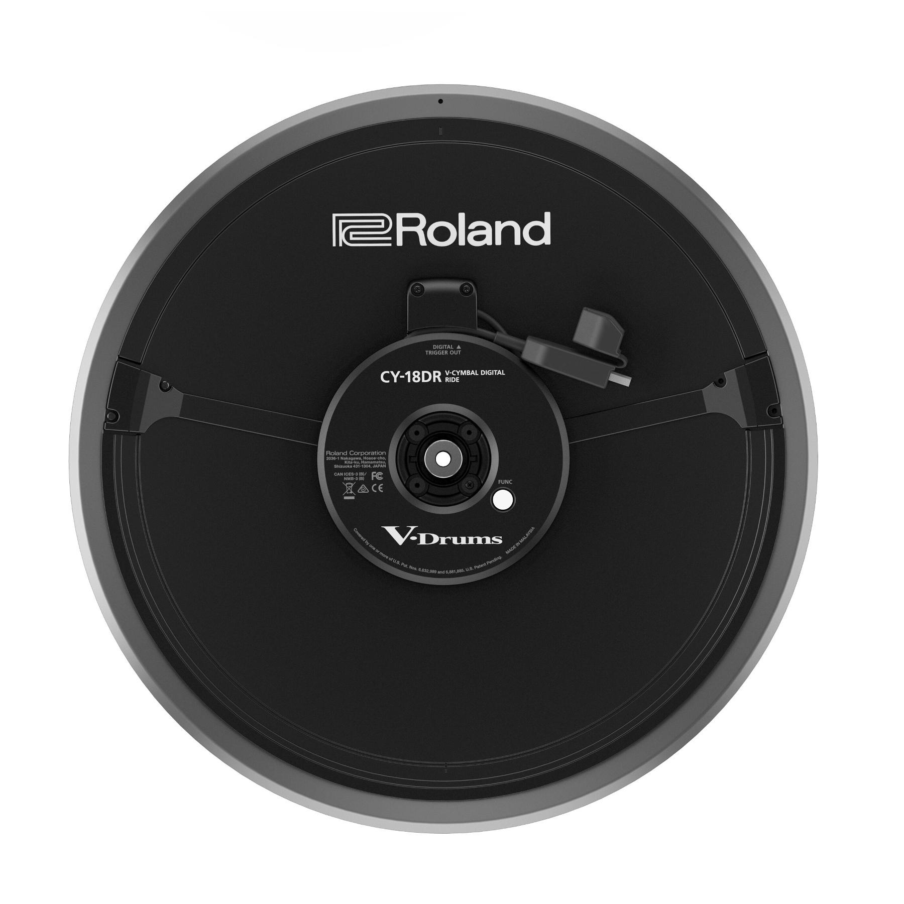 """18"""" V-Cymbal Digital Ride"""