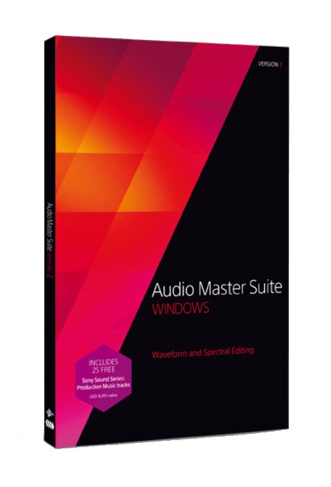 Waveform and Spectral Editing Software Bundle for Windows - Electronic Delivery